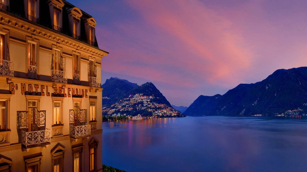 Hotel Splendide Royal Lugano - 5 Sterne Hotel mit Seeblick in Lugano auf den Luganer-See