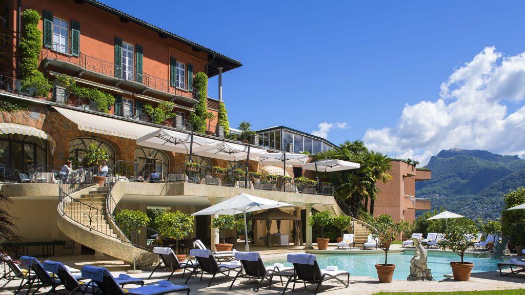 Villa Principe Leopoldo - 5 Sterne Hotel in Lugano, Tessin, Schweiz am Luganer-See